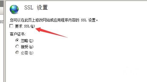 进程SSL设置